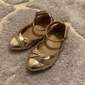 Toddler girl flats